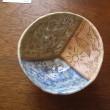 カエル絵ぐいのみ・陶土、釉、陶芸顔料・2014